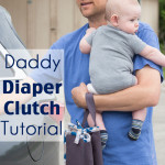 Daddy Diaper Clutch Tutorial