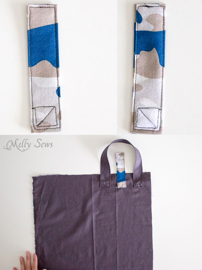 Step 3 - Sew a Daddy Diaper Clutch - Changing pad with essentials for Dad - Melly Sews