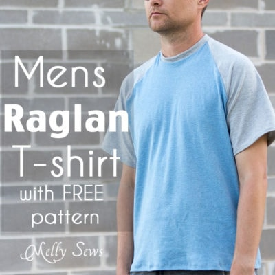 Mens Raglan T-Shirt Pattern (FREE!)