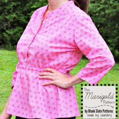 Marigold Peplum with sewVery – Blank Slate Sewing Team