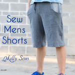 Mens Shorts Tutorial with Pockets