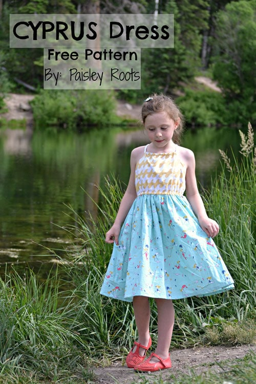 Cyprus Sundress by Paisley Roots for (30) Days of Sundresses - Melly Sews