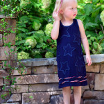 Stars Fell Sundress by Frances Suzanne for (30) Days of Sundresses - Melly Sews