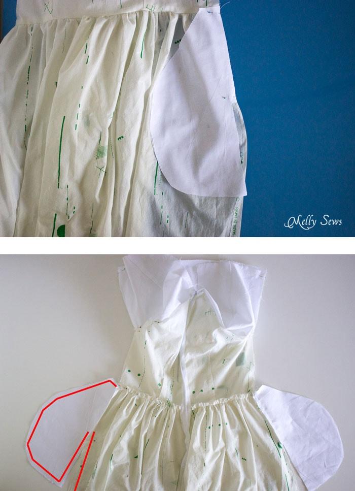 Step 4 - Make a boatneck sundress with this pattern hack - 30 Days of Sundresses - Melly Sews - bateau neck dress - ballet neckline dress