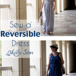 How to sew a Reversible Dress - 30 Days of Sundresses - Melly Sews