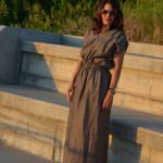 Easy Linen Dress by Aesthetic Nest for (30) Days of Sundresses - Melly Sews