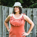 Fringe Maxi Dress Tutorial by Boy Oh Boy Oh Boy - 30 Days of Sundresses - Melly Sews