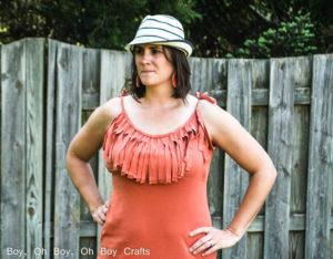 Fringe Maxi Dress Tutorial by Boy Oh Boy Oh Boy - 30 Days of Sundresses - Melly Sews