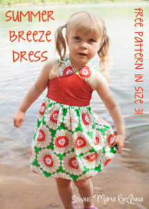 Summer Breeze Dress by Sewing Mama RaeAnna for 30 Days of Sundresses - Melly Sews