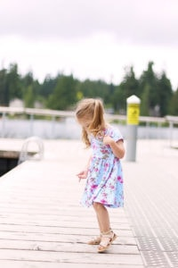 Floral Knit Dress by Sew Much Ado for 30 Days of Sundresses - Melly Sews