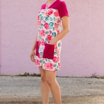 Juniper Jersey turned Dress - Sewing pattern by Blank Slate Patterns - 30 Days of Sundresses - Melly Sews