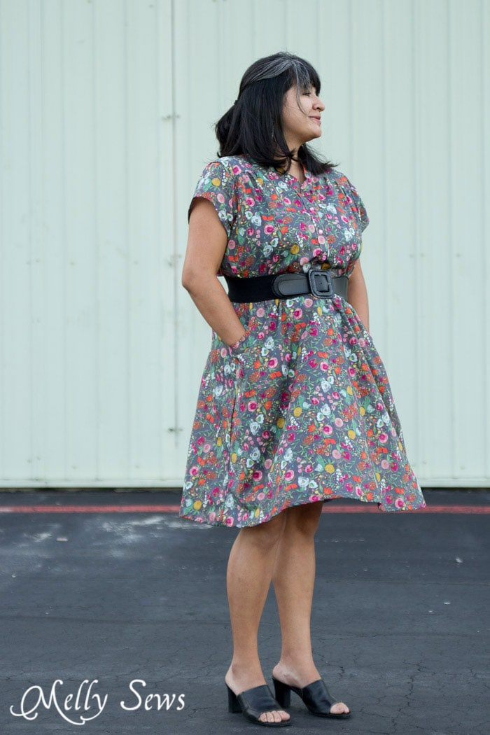 Such a great dress - Marigold Dress by Blank Slate Patterns - 30 Days of Sundresses - Melly Sews
