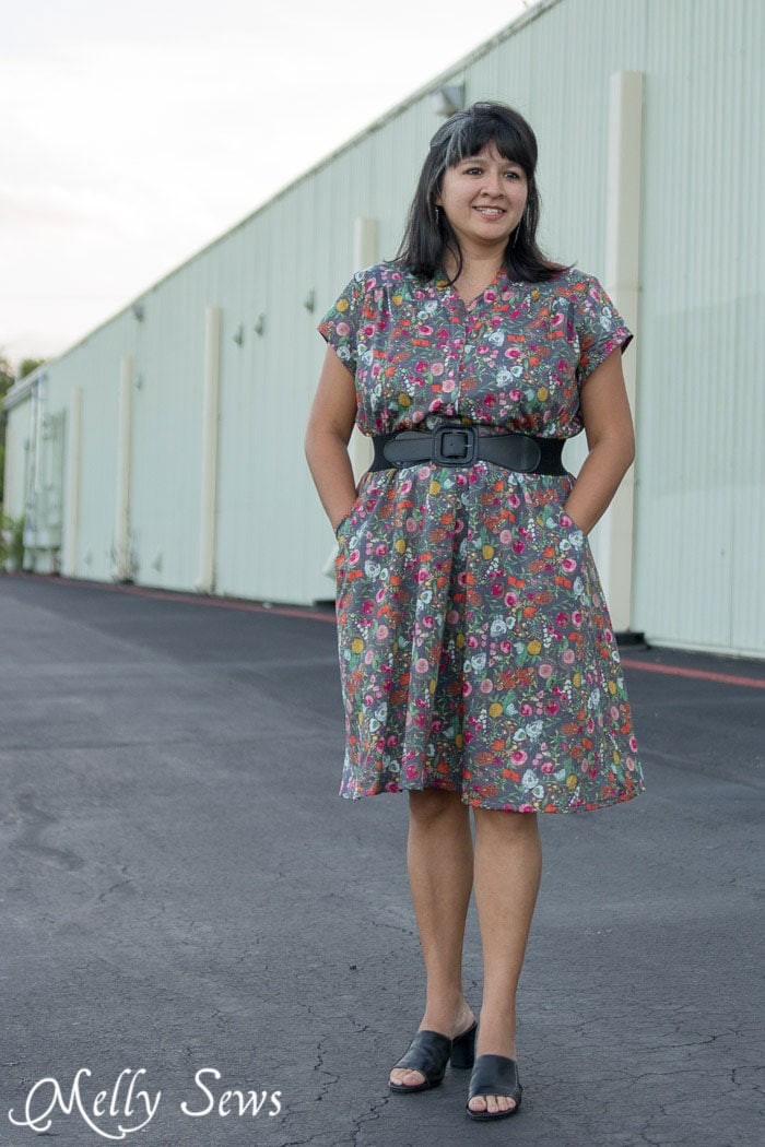 Marigold Dress by Blank Slate Patterns - 30 Days of Sundresses - Melly Sews
