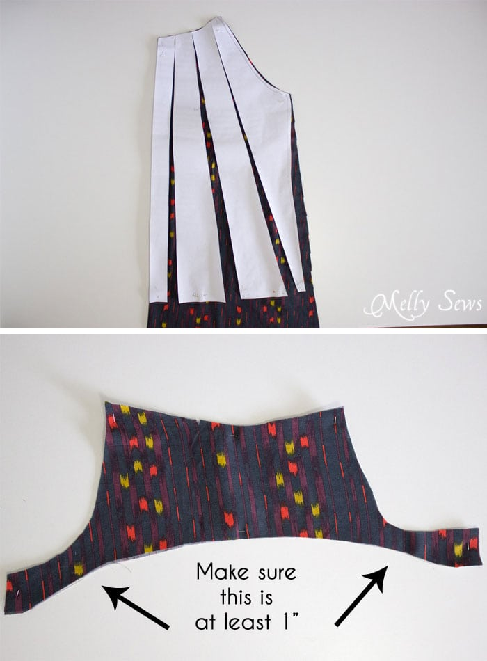 How to modify the pattern - Sew a Peasant Dress - Boho Baby Doll Dress for Women - Free pattern and tutorial from Melly Sews