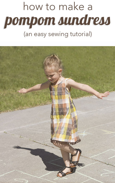 Pom-pom Sundress by Mabey She Made it - 30 Days of Sundresses - Melly Sews