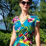 SEW Easy Wrap dress