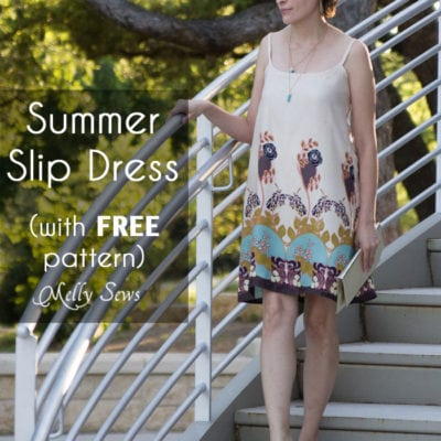 Slip Dress Tutorial and FREE Pattern