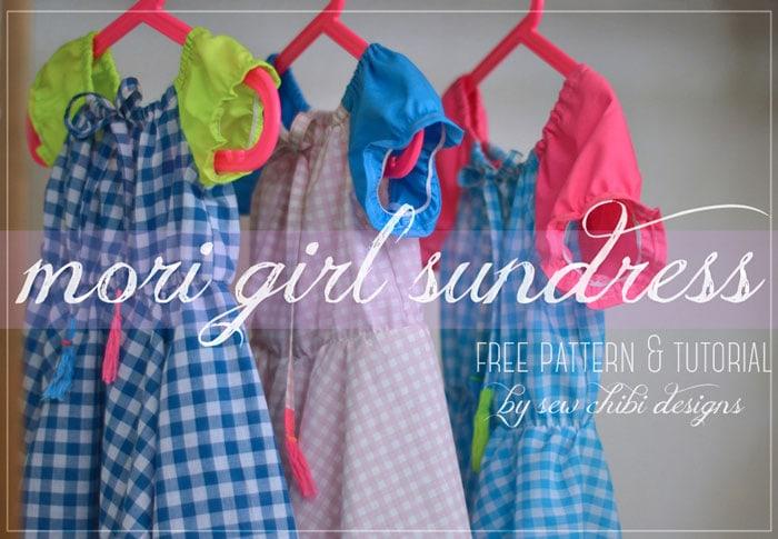 Mori Girl Sundress by Sew Chibi for (30) Days of Sundresses - Melly Sews