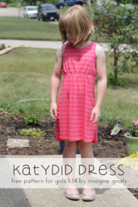 Katydid Dress by ImagineGnats for 30 Days of Sundresses - Melly Sews