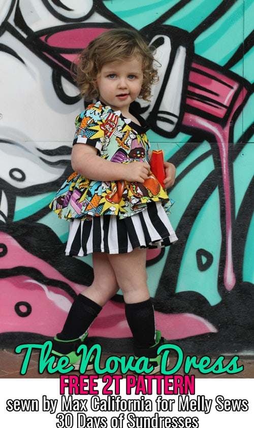 Nova Dress by Max California for (30) Days of Sundresses - Melly Sews