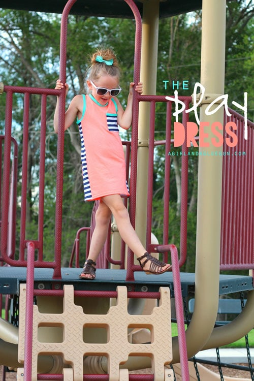 Playground Dress by A Girl and a Glue Gun for (30) Days of Sundresses - Melly Sews