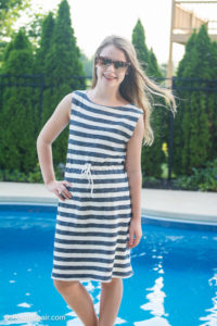 Easy Summer Dress by Polka Dot Chair for (30) Days of Sundresses - Melly Sews