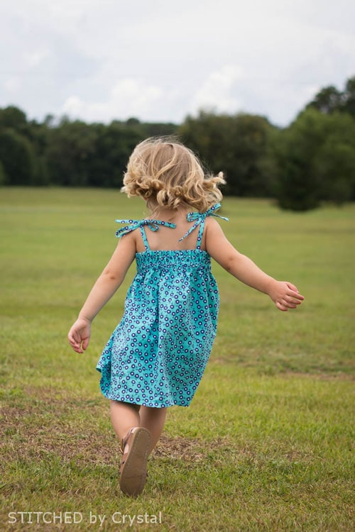 Simple Sundress by Stitched by Crystal for (30) Days of Sundresses - Melly Sews