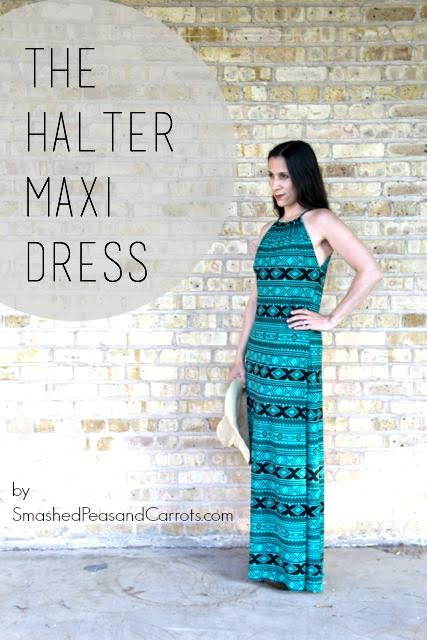 Maxi Dress by Smashed Peas and Carrots - 30 Days of Sundresses - Melly Sews
