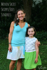 Mother Daughter dresses by Jane of Buzzmills for (30) Days of Sundresses - Melly Sews