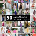 50 Ways to Sew a Sundress!