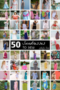50 Sundresses to Sew - Sew a dress for girls and women with all these choices! - Melly Sews (30) Days of Sundresses series