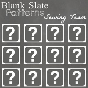 Who will be the next members of the Blank Slate Sewing Team?