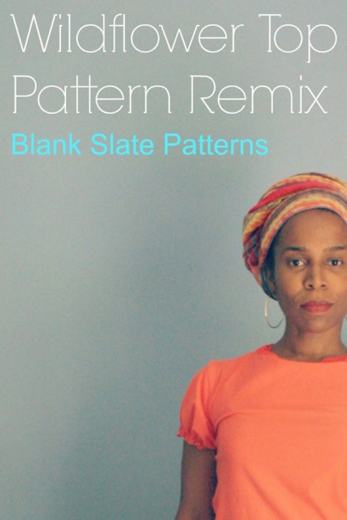 Wildflower Top by Blank Slate Patterns sewn by Little Kids Grow