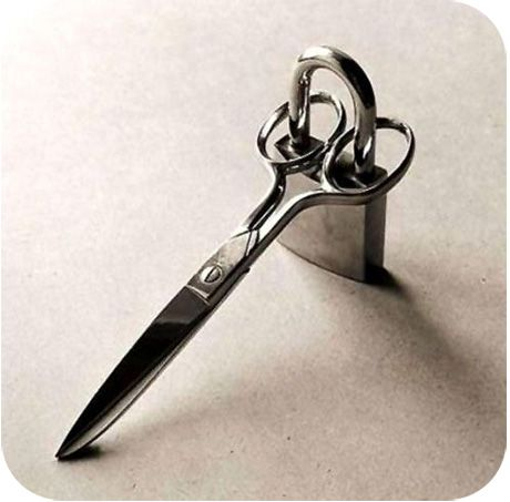 Lock up the fabric scissors - more sewing humor at Melly Sews