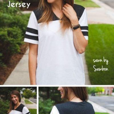 Juniper Jersey with Sewbon – Blank Slate Sewing Team