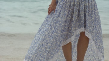 Bohemian Skirt Tutorial - Sew a Floaty Bohemian Skirt with this tutorial - Melly Sews
