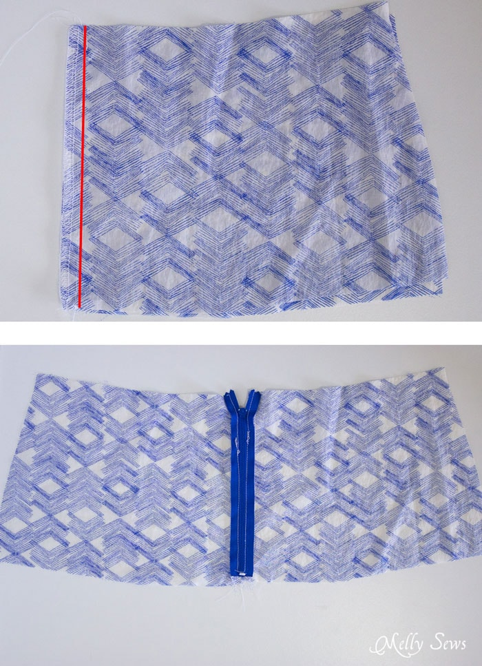 Step 1 - Boho Skirt Tutorial - Sew a Floaty Bohemian Skirt with this tutorial - Melly Sews
