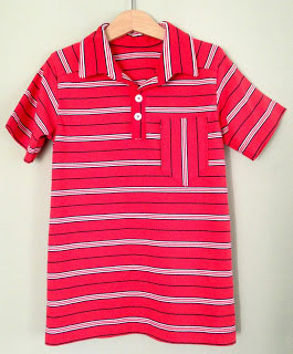 Perfect Polo by Blank Slate Patterns sewn by Lavender Blue Hilly Dilly