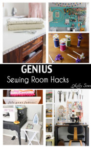 Genius Sewing Room Hacks - Soooo many good ideas! - Melly Sews