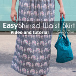 How to Sew with Elastic Thread – Shirred Skirt Tutorial