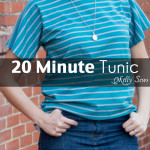 How to Sew a Shirt – 20 Minute Tunic Project