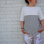 Beachy Boatneck with Dandelion Drift – Blank Slate Pattern Sewing Team