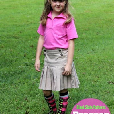 Perfect Polo by sewVery – Blank Slate Patterns Sewing Team