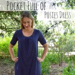 Pocket Full of Posies Dress with A Happy Stitch – Blank Slate Sewing Team