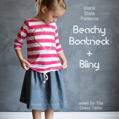 Beachy Boatneck with The Crazy Tailor – Blank Slate Patterns Sewing Team