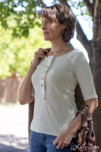 Gwen top by See Kate Sew - get as part of the Unbiased Collection