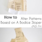 How to Fit a Sewing Pattern