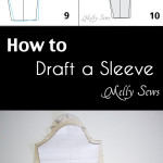 How to Make a Sleeve Pattern – And How to Fit a Sleeve