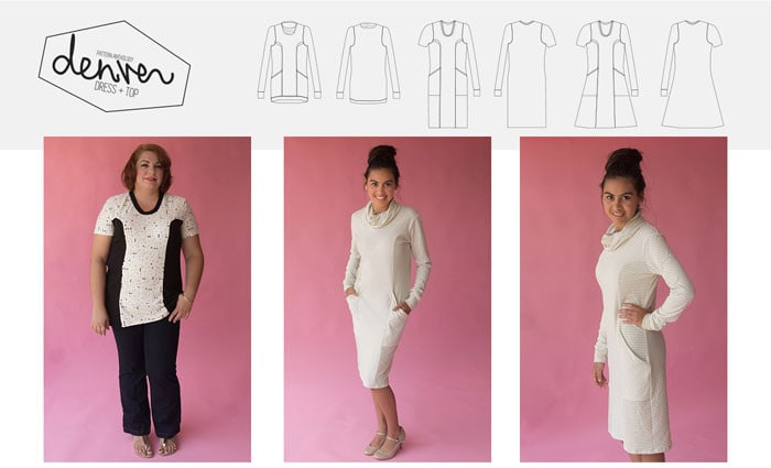 Denver dress pattern by Blank Slate Patterns for Pattern Anthology