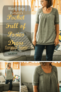 Pocket Full of Posies Dress by Blank Slate Patterns sewn by Sew a Straight Line